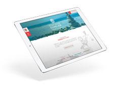 Site Huissier sur tablette